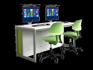 Taula de treball amb PC integrada zioxi