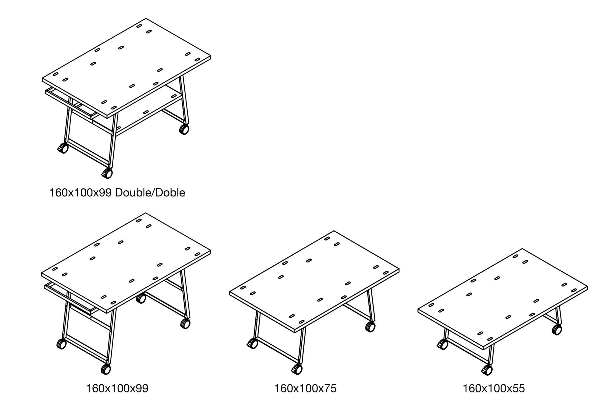 Taules i panells de treball