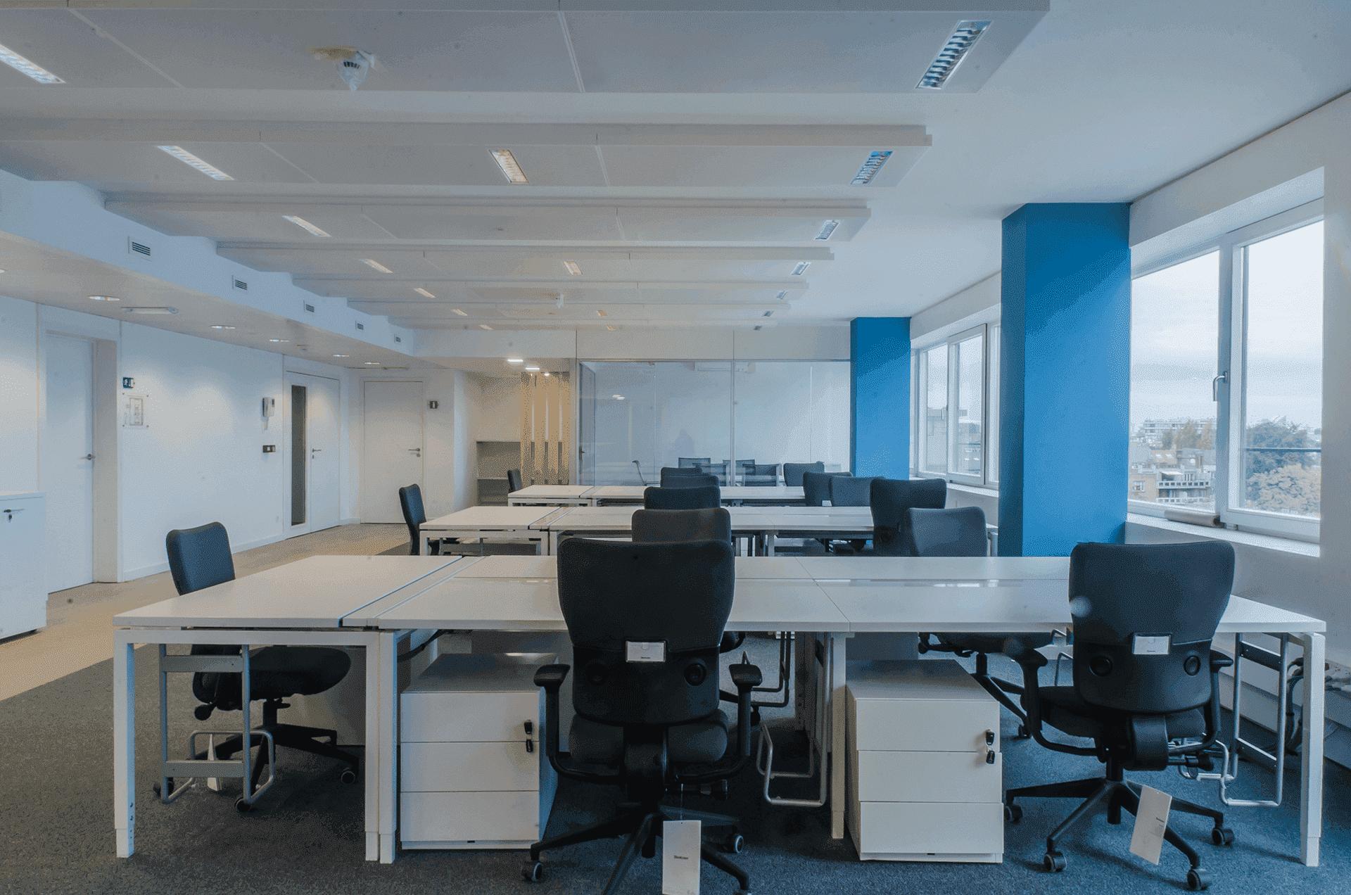 Reforma de les oficines de Transperfect a Brussel·les